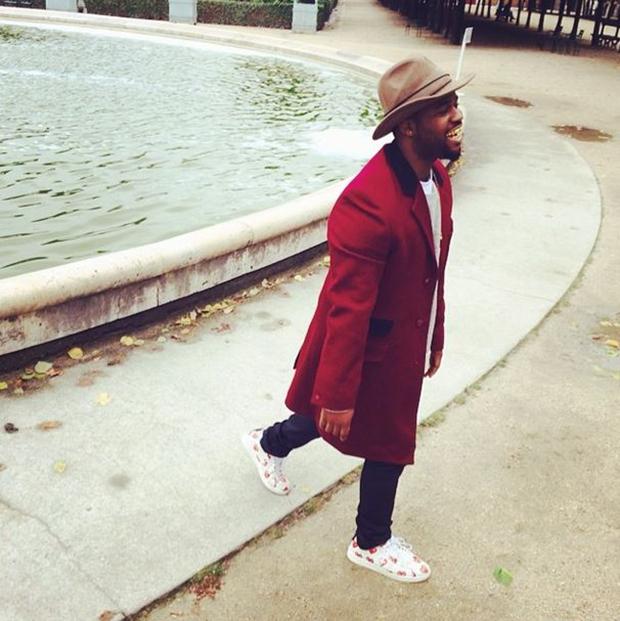 A$AP Ferg in the Comme des Garcons x Converse Pro Leather Low