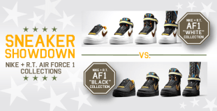 Sneaker Showdown Nike RT Air Force 1 Collections