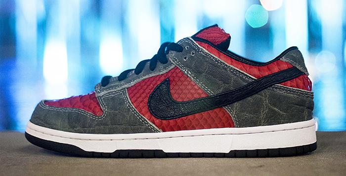 "new style a650c 4173c Supreme x Nike SB Dunk Low ""Python+Elephant+Ostrich"" Custom"