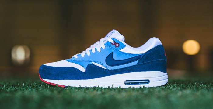 best website 494b5 5aba9 Nike Air Max 1 Essential Midnight NavyUniversity Blue