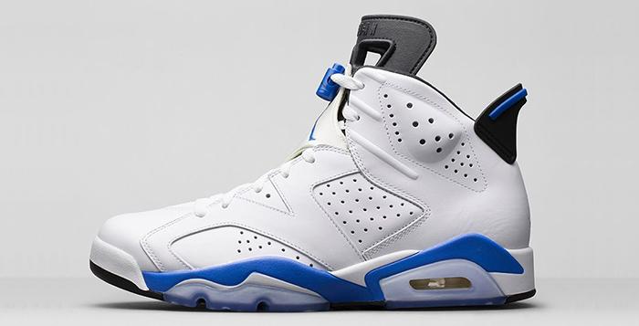 Air Jordan 6 Sport Blue