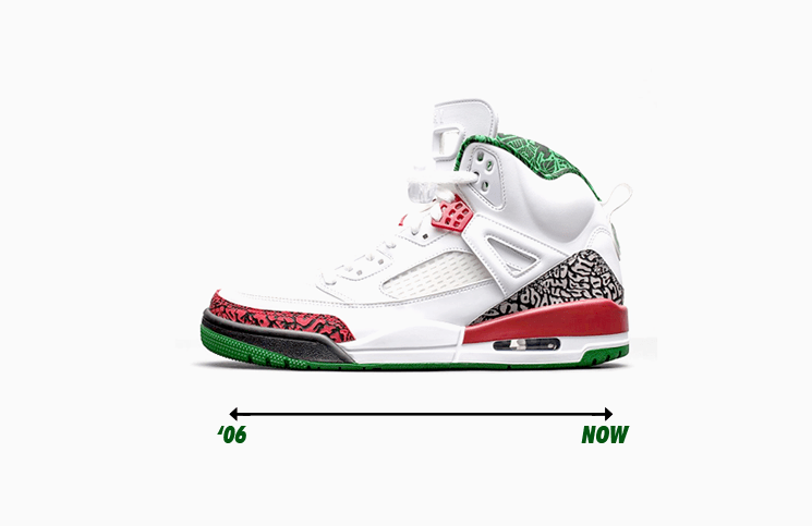 0ba98108a6c2ae Through the Years  The History of the Jordan Spizike