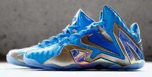 "271851f0a748b1 Nike LeBron 11 Elite ""Blue 3M"""