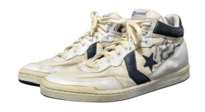 Michael Jordan's 1984 Olympic Converses Are Heading to Auction