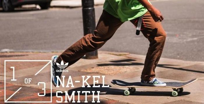 sale retailer b643b a3627 Na-kel Smith Joins adidas Skateboarding