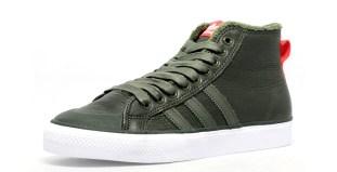lowest price 172cd 7422c adidas Originals Nizza Hi Leather CargoWhite