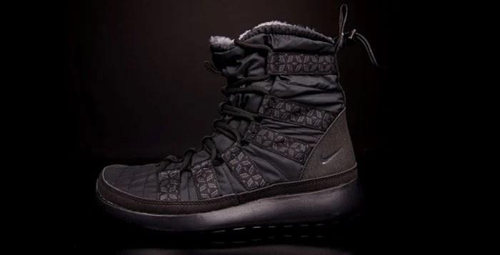 naturel et librement Nike Roshe Courir Salut Sneakerboot Noir jeu commercialisable amazone la sortie populaire tTtb2W