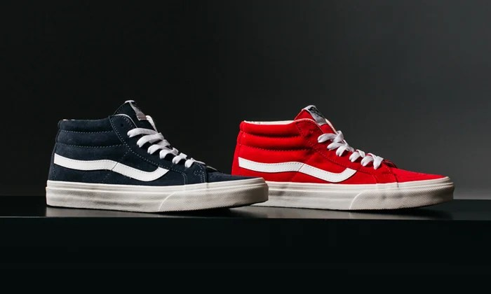 ea9f64208a Vans Sk8-Mid Vintage Fall Collection