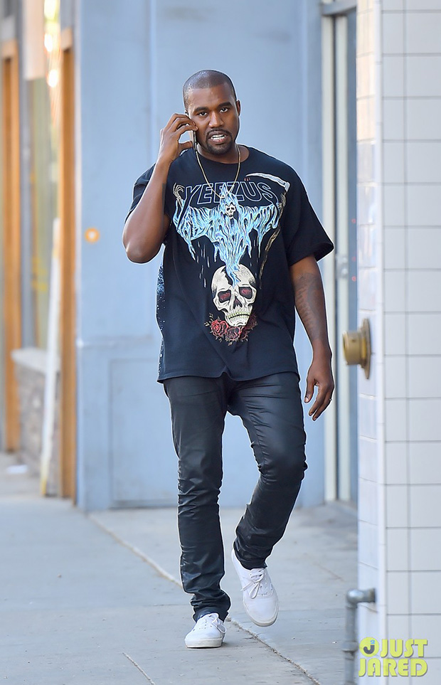 Kanye West in the Vans Era