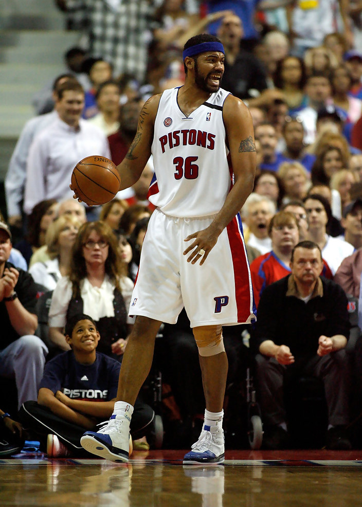 One could argue that Rasheed Wallace was more stylish in Portland (or even  Boston or New York for that matter) than he was in Detroit.