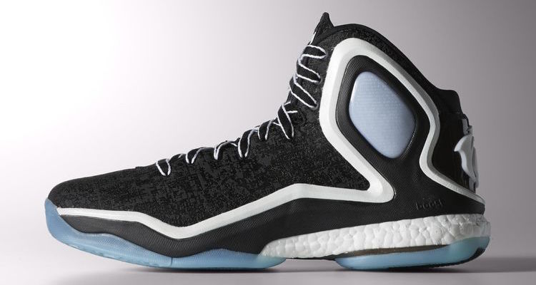 "buy popular 97904 5218b ... Woven Blues - Official adidas D Rose 5 ""Chicago Ice"" Available Now ..."
