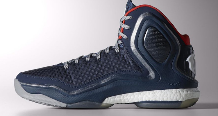 "timeless design 248e4 e756f adidas D Rose 5 ""Woven Blues"" Available Now"