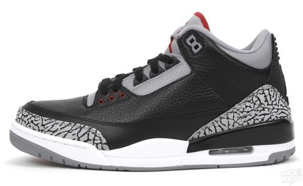 reputable site 909e6 79dcd Air Jordan 3 Black/Cement 2011 - NiceKicks.com