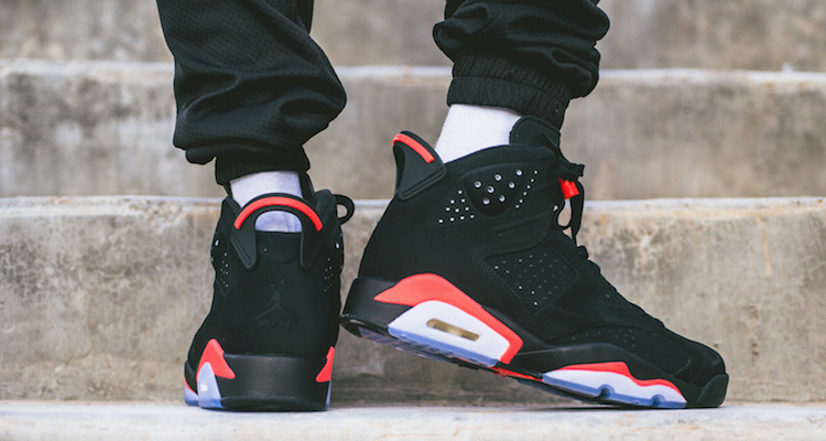 f96fab5018b756 Air Jordan 6 Black Infrared Another Look. Nov 19