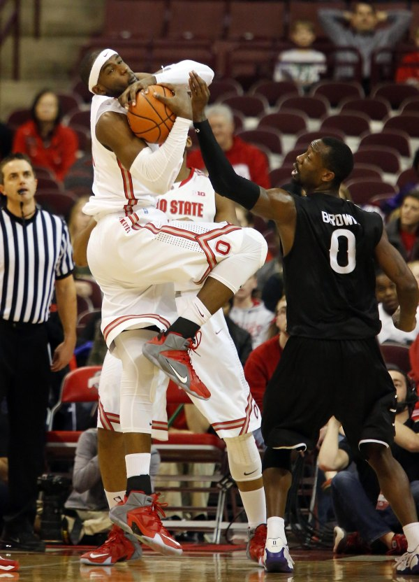 Anthony-Lee-Nike-LeBron-12-Ohio-State-PE