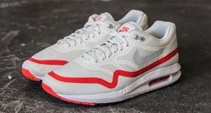cheap for discount b3a1d e7af4 Nike Air Max Lunar1 WhiteMist-Crimson