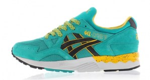 asics gel lyte v tropical green