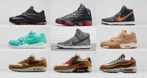 Links to Nike and Jordan releases for December 13, 2014