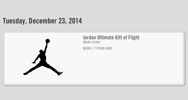 "online store b7825 476c2 Jordan ""Ultimate Gift of Flight"" Pack Release Date"
