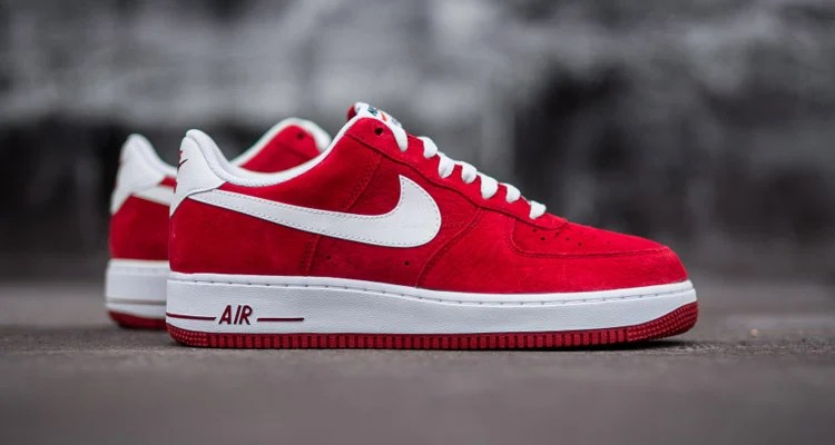 "new product 9ac0a 48fc0 Nike Air Force 1 Low ""Gym Red"" Suede"