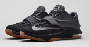 Nike KD 7 EXT Black Suede Official Images