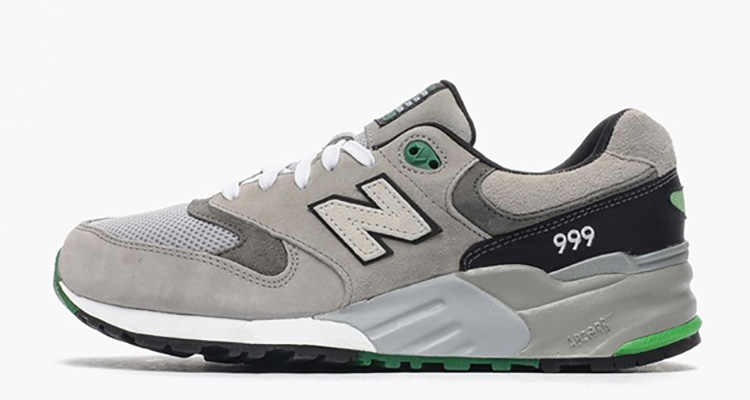wholesale dealer 03a27 49fb6 New Balance 999 Grey/Black/Green | Nice Kicks