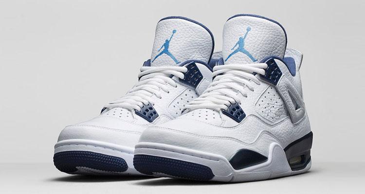 """Air Jordan 4 """"Legend Blue"""" Official Images"""