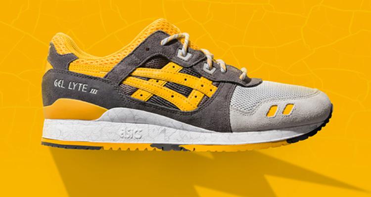 separation shoes d7391 dcc72 ASICS Gel Lyte III Yellow/Mid Grey | Nice Kicks