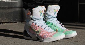 """b6ce1b1e4a0f Nike Kobe 9 Elite """"What the Kobe"""" On-Foot Preview"""