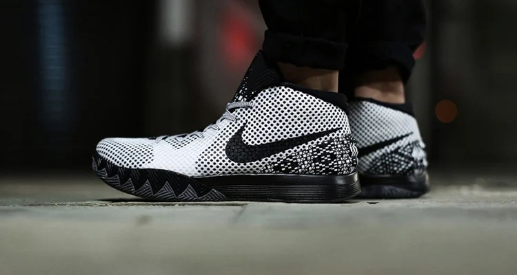 promo code 4d77d 8fb44 nike kyrie 1 on foot