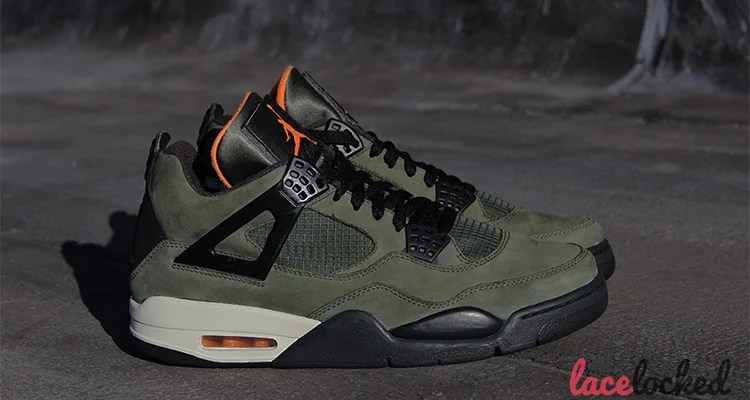 the latest 0eabd 81d9e Undefeated x Air Jordan IV Available on eBay for $30k | Nice ...