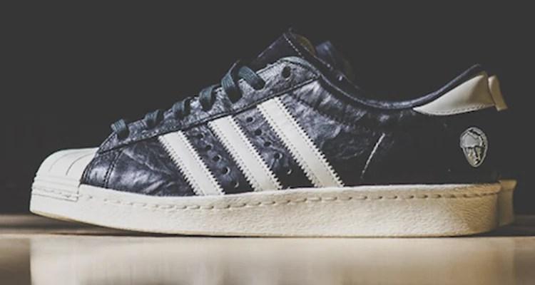 "sports shoes 2809d f2d5c Adi Dassler x adidas Consortium Superstar 80s ""10th Anniversary"""
