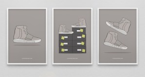 adidas Yeezy 750 Boost Prints by KickPosters