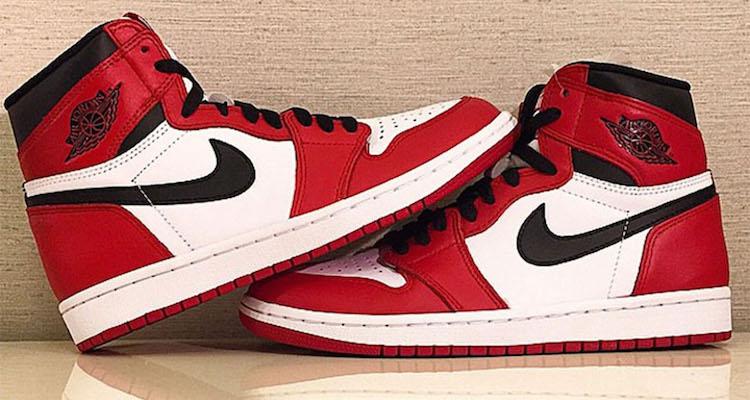 Air Jordan 1 Retro High White Varsity Red Air Jordan 1 Banned ... 91bd0a04df3b