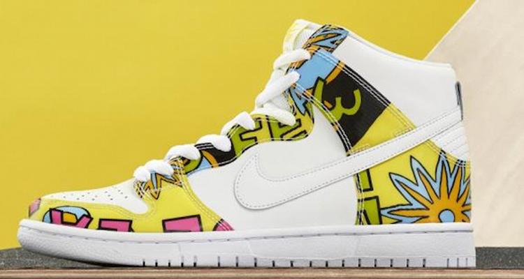 """huge selection of ffa28 5d374 Nike SB Dunk High """"De La Soul"""" Detailed Images"""