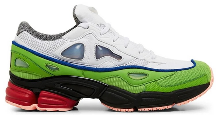 the latest eb2c3 f85e1 Raf Simons x adidas Ozweego 2 White/Green | Nice Kicks
