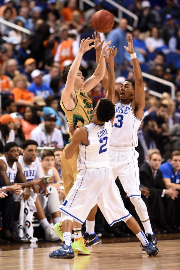 Duke's Quinn Cook in a Dejesus Custom of the Nike LeBron X