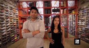 Joe La Puma Goes Sneaker Shopping with Karrueche Tran