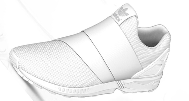 Adidas zx flujo Slip - on (af6337) overkill Berlin sneaker, desgaste