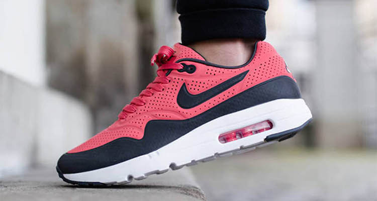 new arrivals 0a563 102cd Nike Air Max 1 Ultra Moire RioAnthracite-White Now Available