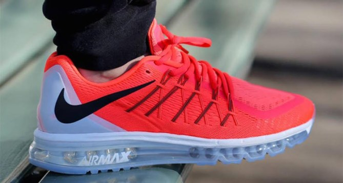 Nike Air Max 2015 Bright Crimson Available Now