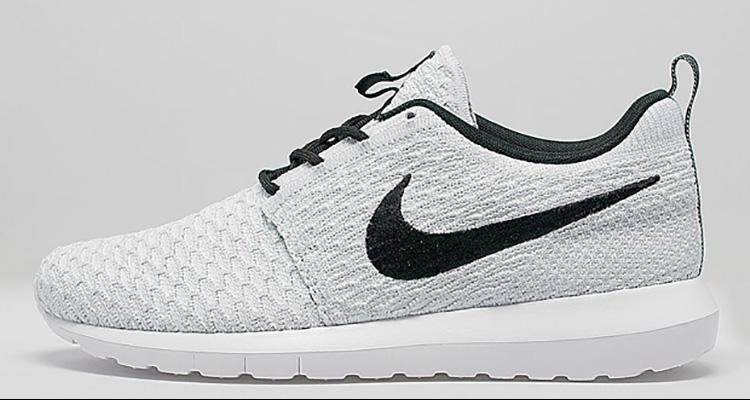 2b3c74cda5db Nike Flyknit Roshe Run Gets Monochrome White Black Update
