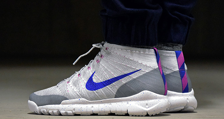 7f56eecd21d Nike Flyknit Trainer Chukka FSB Wolf Grey Blue Available Now