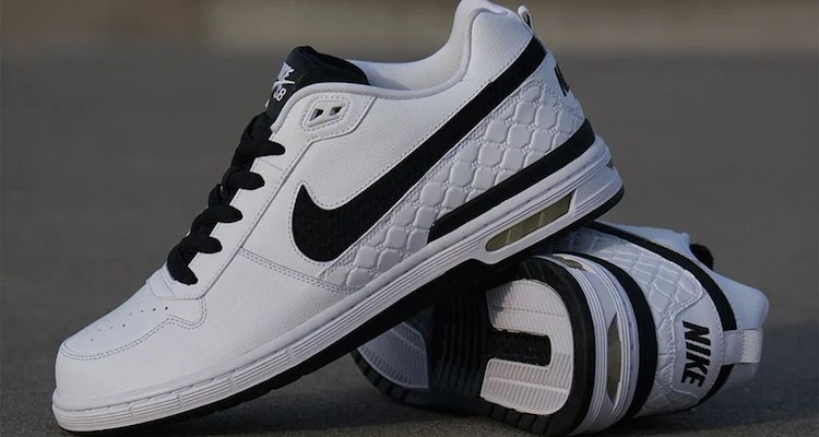 on sale b4b78 c051b Nike SB Zoom Air Paul Rodriguez Low White Black Official Images