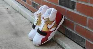 "Nike Honors Jerry Rice's Roots with the ""Brick Layer"" Air Trainer 1"
