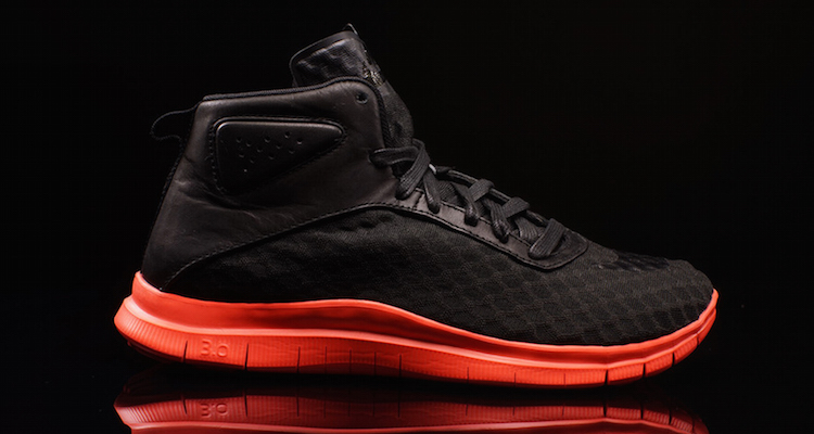 87a217159dfd The Nike Free Hypervenom Mid Black Hot Lava Is Available Now