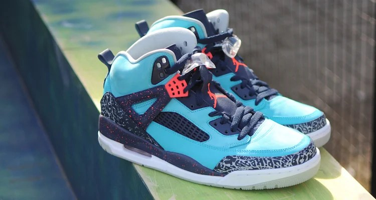 """best service 068b1 9d7c1 ... new style ca479 5356a The Jordan Spizike """"Turquoise Blue"""" Is Releasing  ..."""
