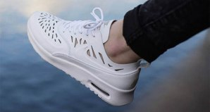 separation shoes 7ab6d 583b0 The Nike Air Max Thea Joli White Grey Mist Is Available Now
