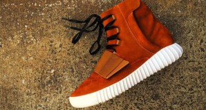 adidas Yeezy 750 Boost Auburn Custom by Mache Customs