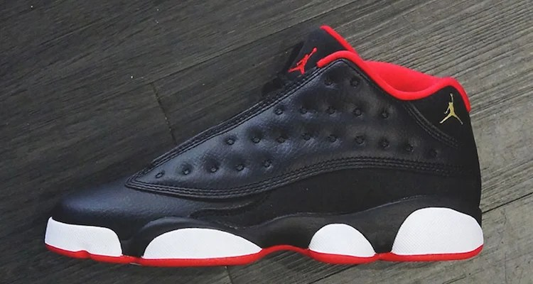 Check out a Detailed Look at the Air Jordan 13 Low Black University ... f6d524bc2c5f